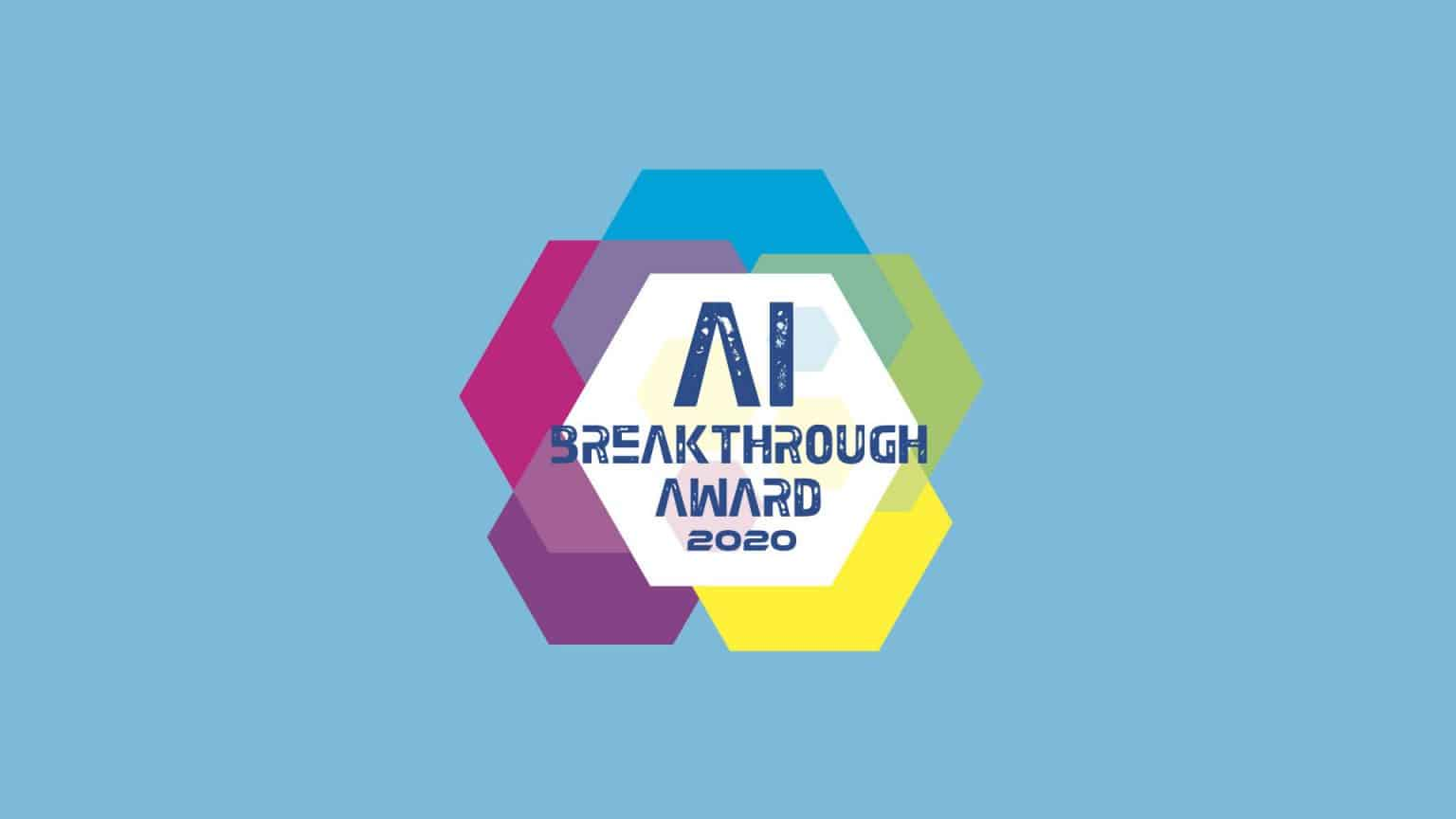 Audio Analytic won 'Best Overall AI Company' in the AI Breakthrough Awards