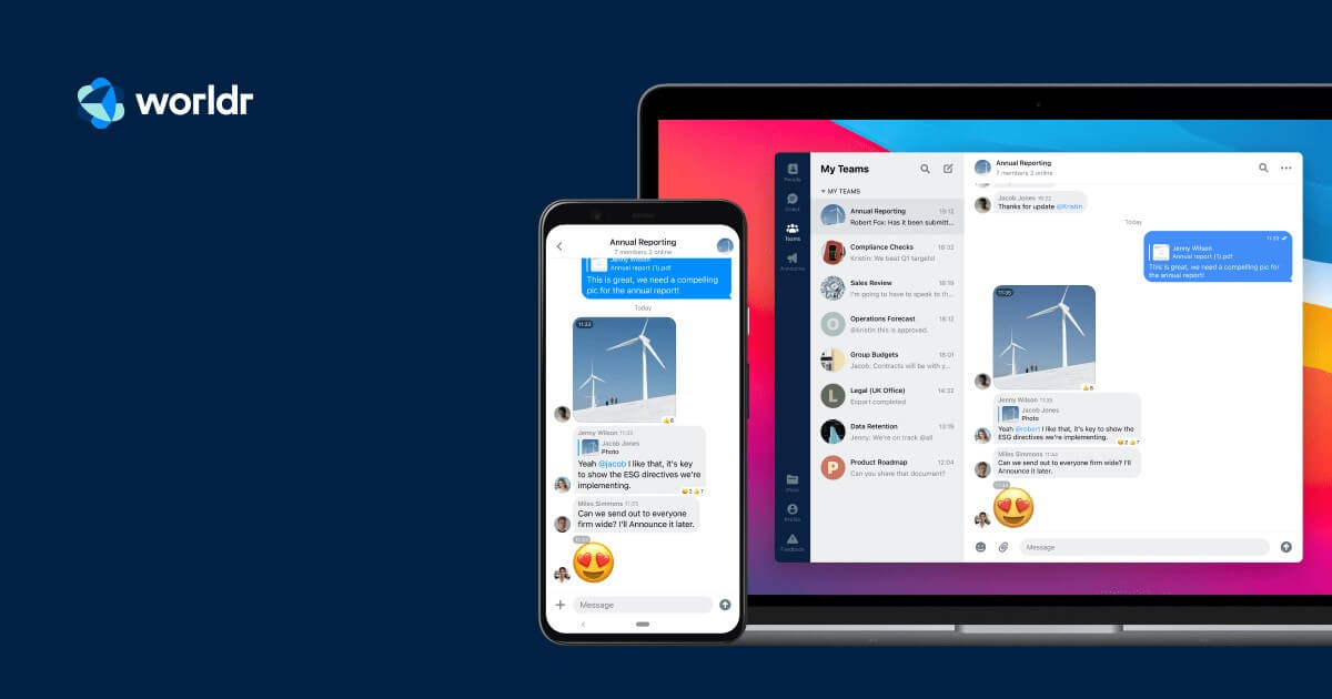 Worldr raises $3m to protect remote conversations, and launches an End-to-End Encryption layer for Microsoft Teams